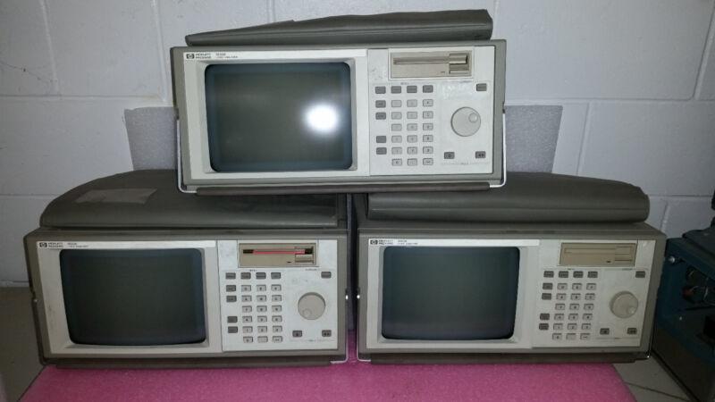 HP 1650B Logic Analyzer - Lot of 3 units!