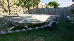 """""""Tin Tuna"""" 15f Tinny On Trailer Morayfield Caboolture Area Preview"""