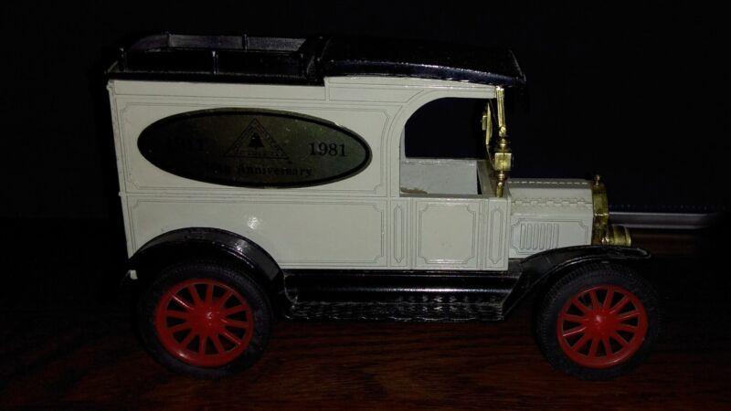 ERTL Diecast Metal Bank 1913 Model T Ford Van Replica AT&T 70th Anniversary