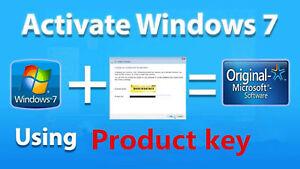 Windows 7 Professional 32/64 Bit Retail Genuine Activation Key, Send In 2 Min