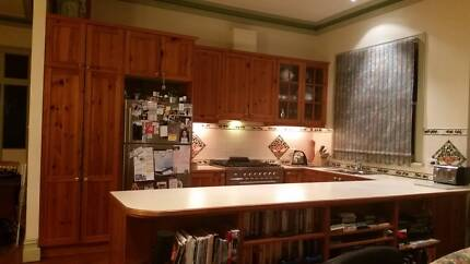 Pine timber kitchen for sale Melbourne CBD Melbourne City Preview