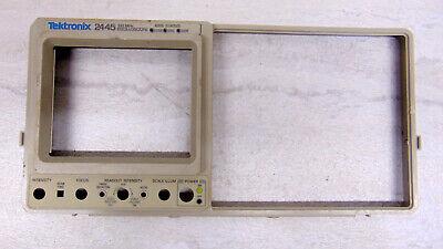Tektronix 2445 2455 2465 Oscilloscope Etc Plastic Front Panel Bezel 101-0082-00