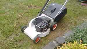 Victa Mustang 2 stroke mower with catcher and warranty Sunbury Hume Area Preview