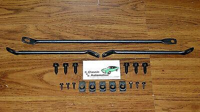 - Front Spoiler Brackets and Hardware 20pc Kit 67 68 Camaro Firebird braces