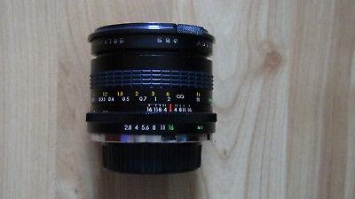 Durchmesser Objektiv (Auto Makinon 1:2.8 24mm Multi-Caoted 58 Durchmesser )