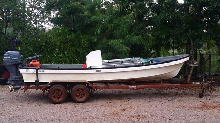 Yamaha Longboat 19ft