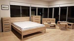 8 Piece Furniture Deal - NEW - Light Oak Finish Bunbury Bunbury Area Preview