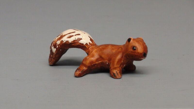 Old Monrovia Hagen Renaker Red Baby Squirrel