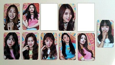 I.O.I IOI 2nd mini Album Miss Me PhotoCard Official Produce 101 Set (9 pcs)