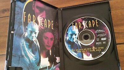 """Farscape """"Back & Back & Back To The Future, Thank God is Friday...Again""""  DVD"""
