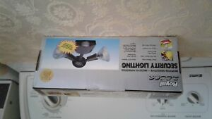 Motion Sensitive Security Lights, New, $20.00