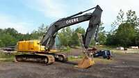 2008 Deere 200D LC Barrie Ontario Preview