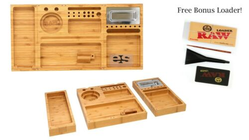 RAW - Rolling Bamboo Tray + FREE *KING LOADER*