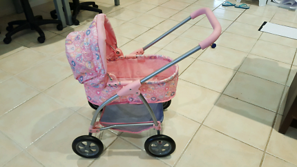 Baby Born Pram plus doll