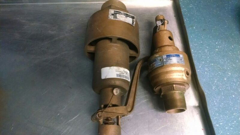 KUNKLE RELIEF VALVES (2)