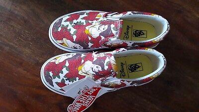 ey Belle Vans Größe 32 neu Schöne und das Biest (Belle Disney Schuhe)