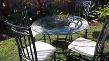 Glass Top table with 4 chairs Coomera Gold Coast North Preview