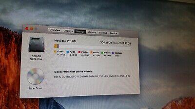 "Apple MacBook Pro A1297 17"" Laptop - MB604LL/A (January, 2009)"