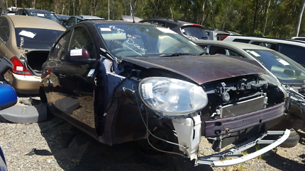 2012 NISSAN MICRA MAROON FOR WRECKING