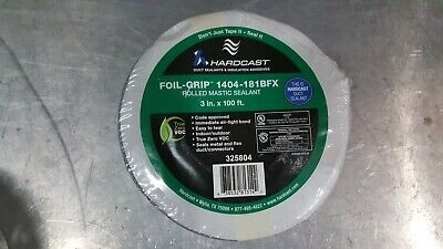 Foil-grip 1404-181bfx 2 In. X 100 Ft. Silver Aluminum Rolled Duct Sealing Tape