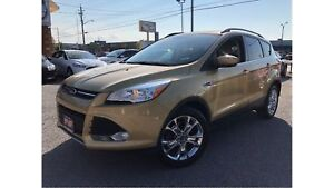 2014 Ford Escape SE PANORAMA ROOF LEATHER CHROME WHEELS