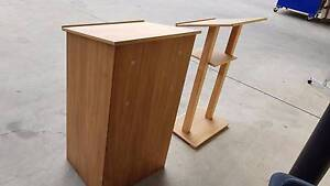 WOODEN LECTERN - speech school university lecture conference Murarrie Brisbane South East Preview