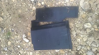 FULL SET UNDER SEATS MATS   REMOVED FROM FORD IVECO 75 E  BREAKING FOR SPARES