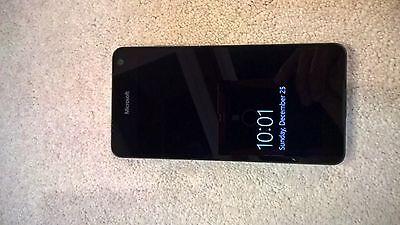 "New Microsoft Lumia 650 5"" 16GB Black Unlocked 8MP Win10 4G LTE Smartphone"