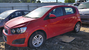 Wrecking holden barina 2015 red Rocklea Brisbane South West Preview