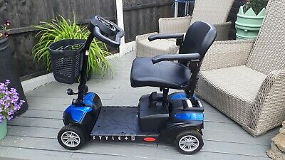 DRIVE STYLE PLUS S TRANSPORTABLE MOBILITY SCOOTER,