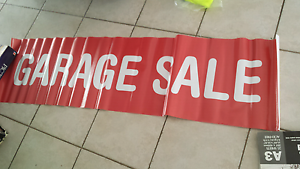 Garage Sale sign Quakers Hill Blacktown Area Preview
