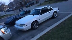 MINT 1989 MUSTANG LX FOXBODY Trade for harley