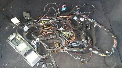 BMW E46 FULL WIRING HARNESS LOOM FOR NAVIGATION GPS