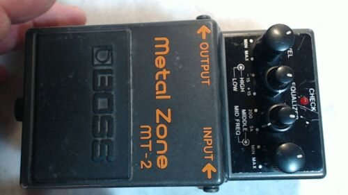 BOSS MT-2 Metal Zone Guitar Distortion Pedal