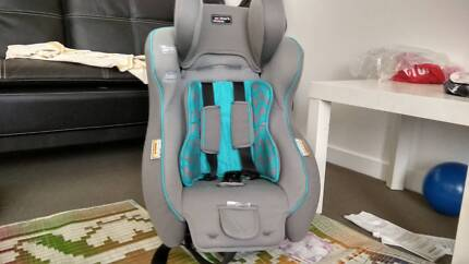 Baby car seat clean and tidy