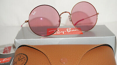 RAY BAN New Sunglasses JA-JO Bronze-Copper Pink Classic RB3592 9035F6 55 (Ray Ban Ja Jo Pink)