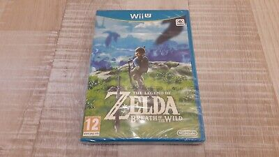 Jeu ZELDA BREATH OF THE WILD - Wii U - NEUF SOUS BLISTER