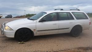 2001 Ford Falcon Au Series 2 Auto Wagon Broome Broome City Preview