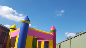 Peppa pig and various themed jumping castles only $110 many style Truganina Melton Area Preview