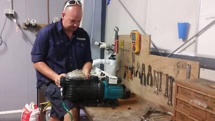 Pool & Tank Pump Repairs, Chlorinator Repairs, Pool Filter Repair