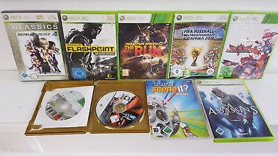 9x Xbox 360 Spiele - Paket - Sammlung