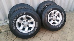 Hilux wheels Ballajura Swan Area Preview