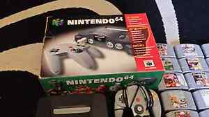 Boxed Nintendo 64 & 17 games Freeling Gawler Area Preview