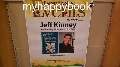 Signed Diary Of A Wimpy Kid  The Getaway By Jeff Kinney  Hardcover  Autographed