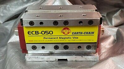 Earth-chain Ecb-050 5 X 3 X 3 Magvise Permanent Magnetic Vise For Cnc Mill