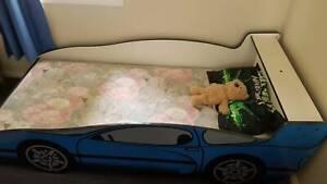Kids single car  bed & Mattress Merrylands Parramatta Area Preview