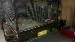 "8"" x 5"" unregistered caged trailer Warnbro Rockingham Area Preview"