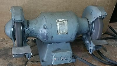 Baldor 8 Bench Grinder Buffer Polisher G8214 34hp 1625 Rpm 3 Phase