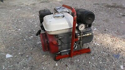 Honda GX 110 Petrol Engine Portable Compressor Very nice little used condition