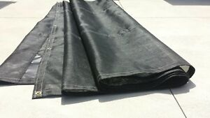 Mesh tarp for dump trucks 7'x18'